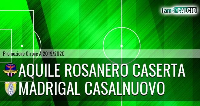 Aquile Rosanero Caserta - Madrigal Casalnuovo