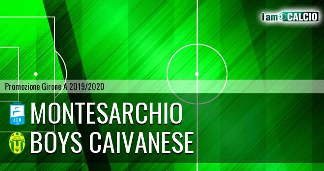 Montesarchio - Boys Caivanese
