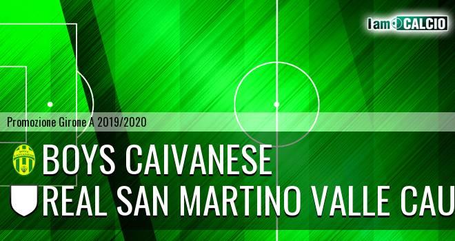Boys Caivanese - Real San Martino Valle Caudina