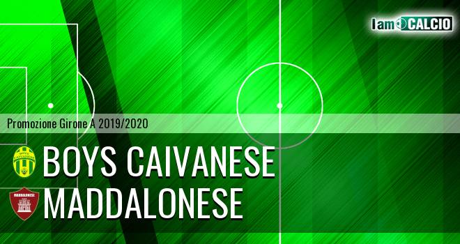 Boys Caivanese - Maddalonese