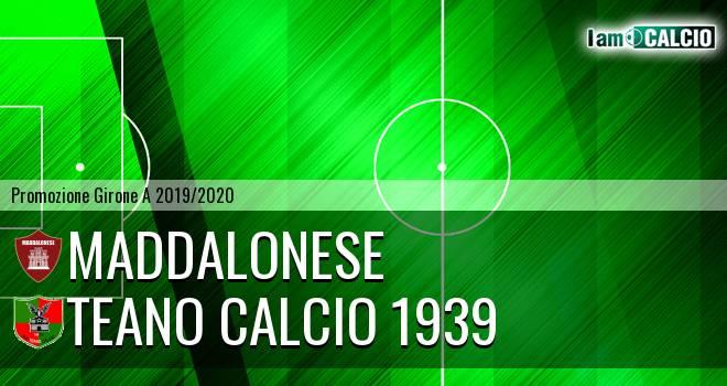 Maddalonese - Teano Calcio 1939