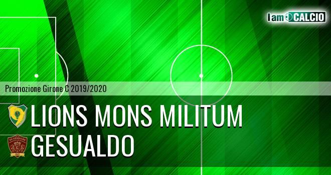 Lions Mons Militum - Gesualdo