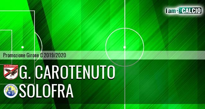 G. Carotenuto - Solofra