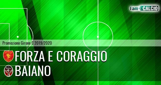 Forza e Coraggio - Baiano 3-5. Cronaca Diretta 09/11/2019