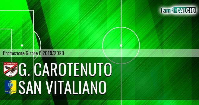 G. Carotenuto - San Vitaliano