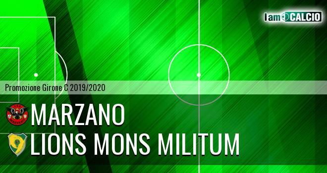 Marzano - Lions Mons Militum