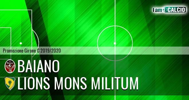 Baiano - Lions Mons Militum