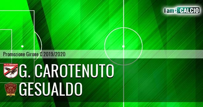 G. Carotenuto - Gesualdo