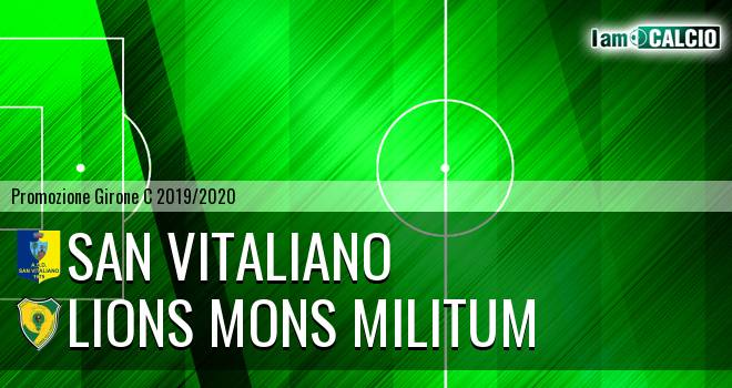 San Vitaliano - Lions Mons Militum