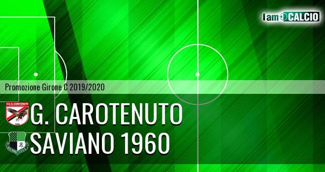 G. Carotenuto - Saviano 1960