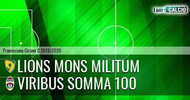 Lions Mons Militum - Viribus Somma 100