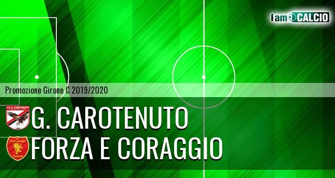 G. Carotenuto - Forza e Coraggio