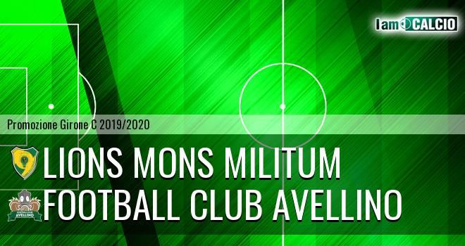 Lions Mons Militum - Football Club Avellino