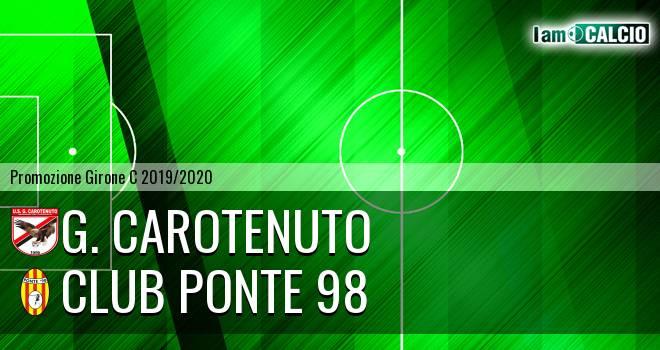 G. Carotenuto - Ponte '98