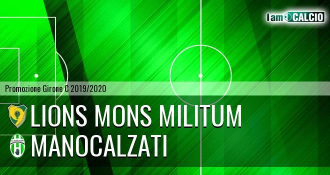 Lions Mons Militum - Manocalzati