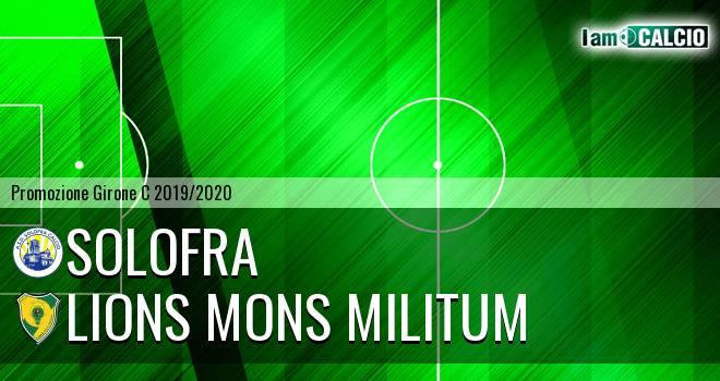 Solofra - Lions Mons Militum