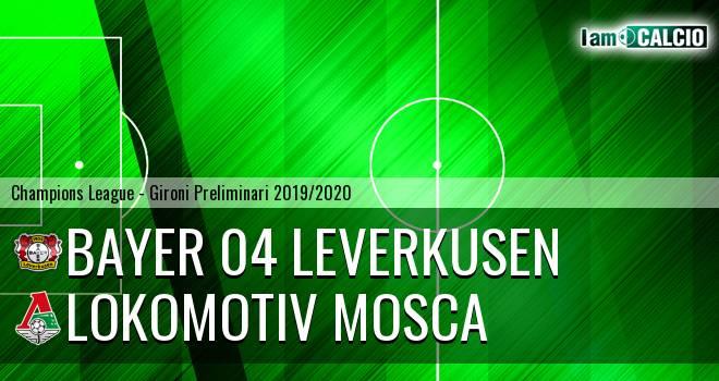 Bayer 04 Leverkusen - Lokomotiv Mosca