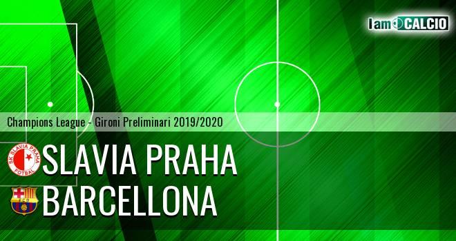 Slavia Praga - Barcellona