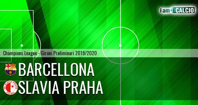 Barcellona - Slavia Praga