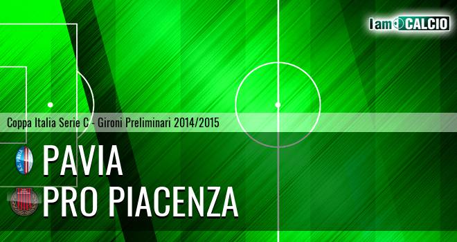 Pavia - Pro Piacenza