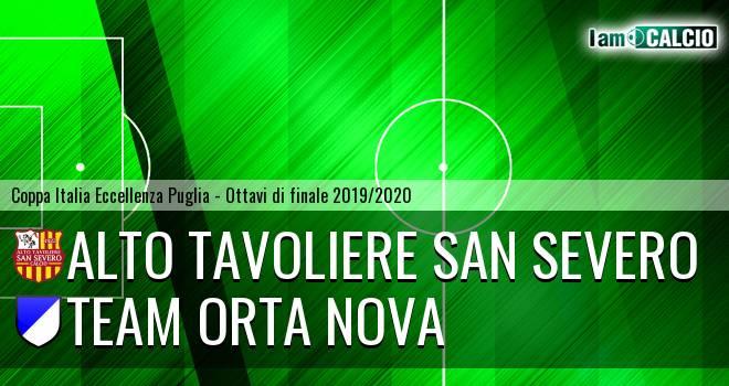 Alto Tavoliere San Severo - Team Orta Nova