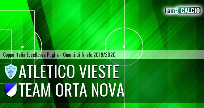 Atletico Vieste - Team Orta Nova