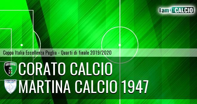 Corato Calcio - Martina Calcio 1947