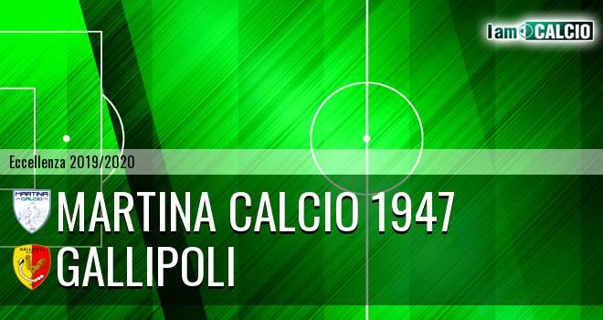 Martina Calcio 1947 - Gallipoli