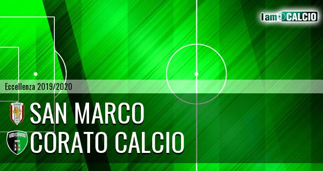 San Marco - Corato Calcio