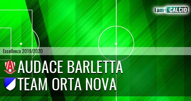 Audace Barletta - Team Orta Nova