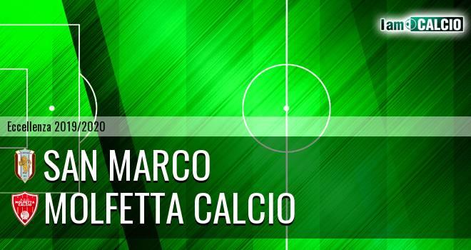 San Marco - Molfetta Calcio