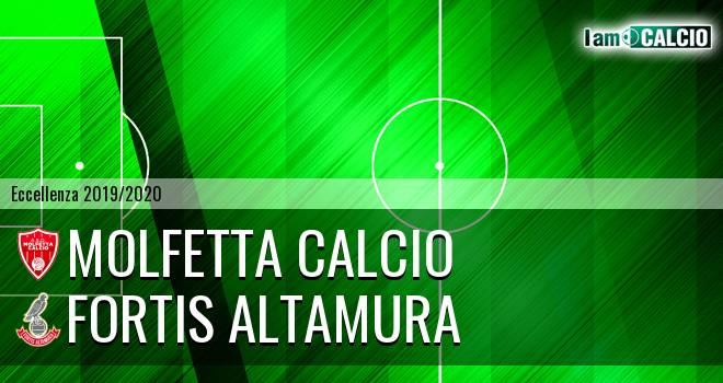 Molfetta Calcio - Fortis Altamura