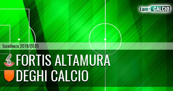 Fortis Altamura - Deghi Calcio