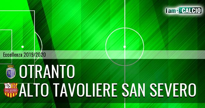 Otranto - Alto Tavoliere San Severo