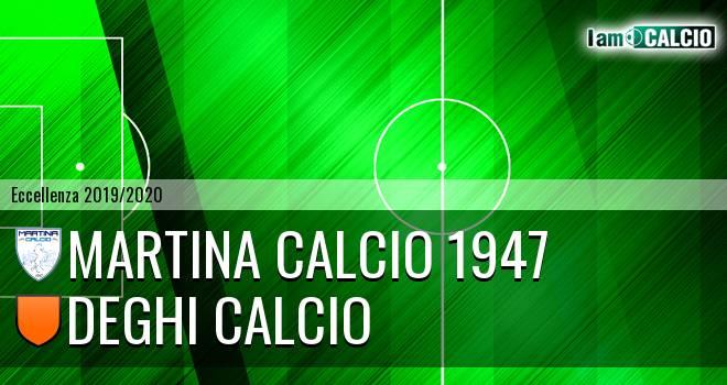Martina Calcio 1947 - Deghi Calcio