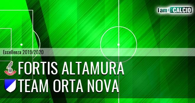 Fortis Altamura - Team Orta Nova