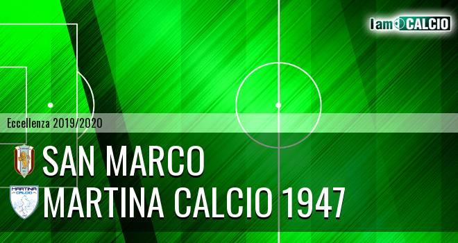 San Marco - Martina Calcio 1947