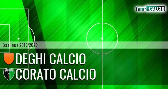 Deghi Calcio - Corato Calcio