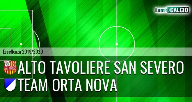 San Severo Calcio - Team Orta Nova
