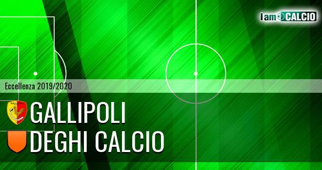 Gallipoli - Deghi Calcio