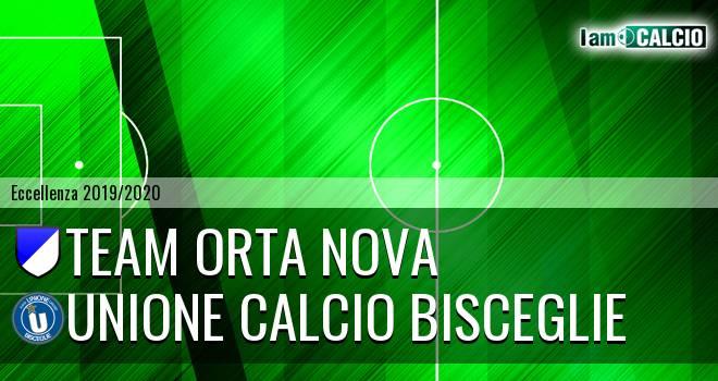 Team Orta Nova - Unione Calcio Bisceglie