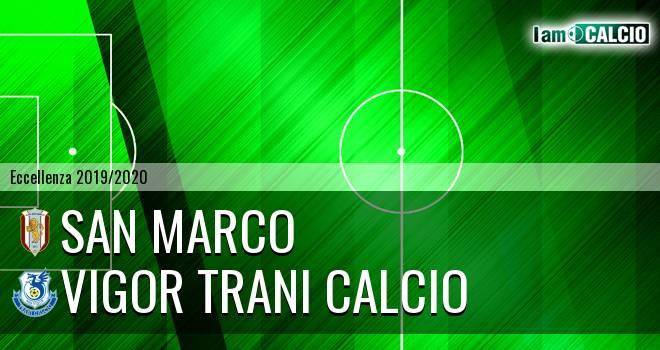 San Marco - Vigor Trani Calcio