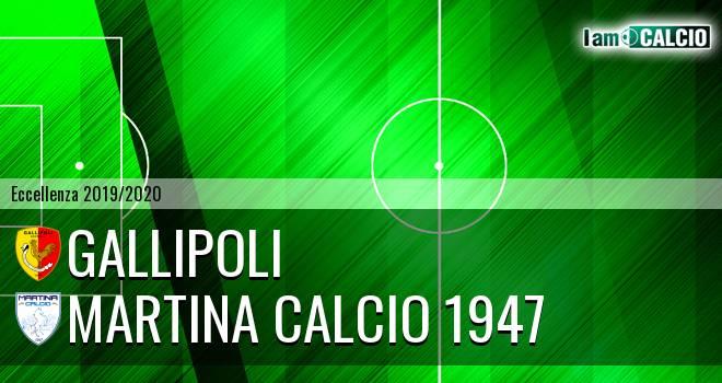 Gallipoli - Martina Calcio 1947