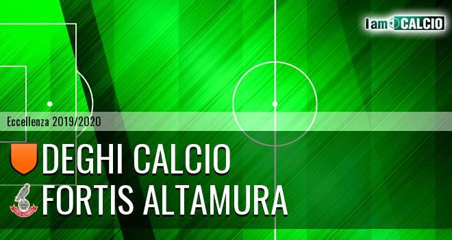Deghi Calcio - Fortis Altamura