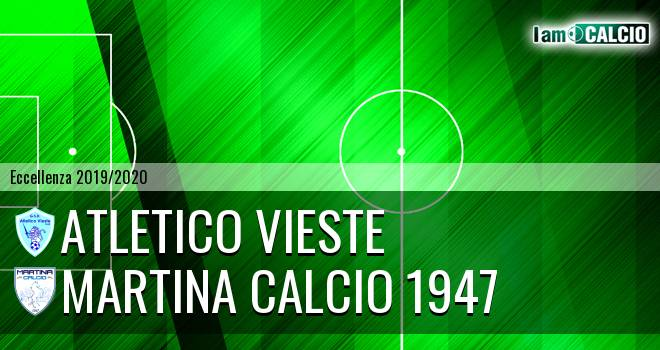 Atletico Vieste - Martina Calcio 1947