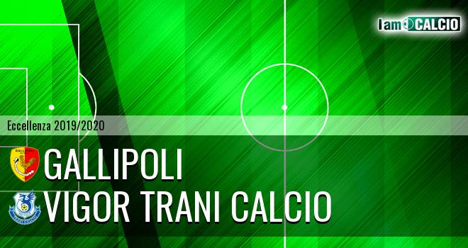 Gallipoli - Vigor Trani Calcio
