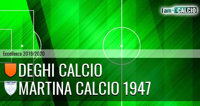 Deghi Calcio - Martina Calcio 1947