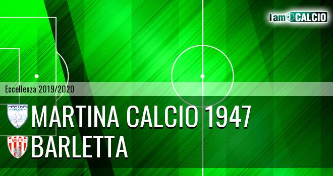 Martina Calcio 1947 - Barletta