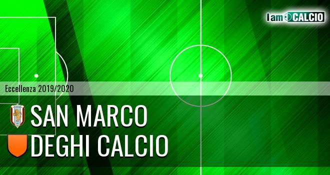 San Marco - Deghi Calcio