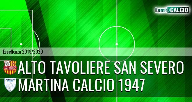 Alto Tavoliere San Severo - Martina Calcio 1947